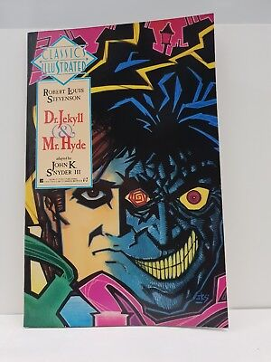 Classics illustrated Dr Jekyll & Mr Hyde