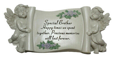 Special Brother Graveside Memorial Ornament Grave Scroll Plaque Tribute Gift New