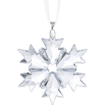 SWAROVSKI Crystal Little Snowflake Christmas Ornament Star 2018 NIB 5349843 mint