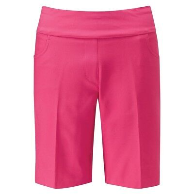 New - Ping Adele Pull-on Ladies Golf Short - Hot Pink