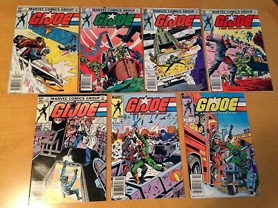 Gi. Joe Marvel Series Lot Of 21 # 11-33! 1St Appearance Of Storm Shadow!