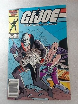 GI Joe 49. Marvel. July 1986