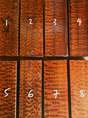 Snakewood knife scale block / carving wood SPECIAL GRADE 120-220mm length