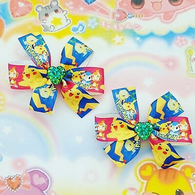 1 Pair Hair Clips Anime Sailor Moon Cosplay Accessories Tsukino
