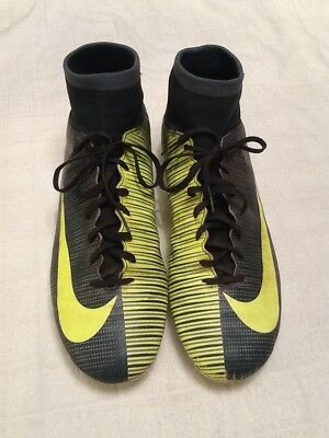 Nike Mercurial CR7    SZ  UK 9 soft ground studs in very good used condition
