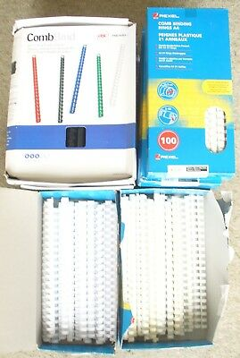 Rexel A4 Comb Binding Rings Approx 550