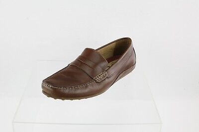 248bbf1d545 FLORSHEIM OVAL PENNY Driver Loafer Brown Men s Shoes Size 8.5 M ...