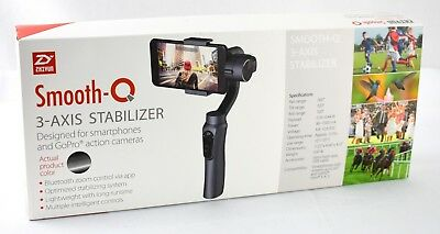Zhiyun Smooth-Q 3-Axis Handheld Gimbal Stabilizer for Smartphone (Black) 4263sw