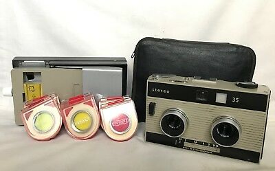 Vintage Camera - Meopta - Stereo 35 With 6 X Filter