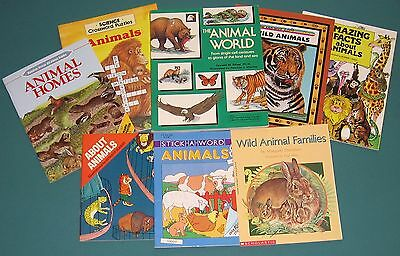 Speech Therapy – Artic/lang – 8 Books For An Animal Unit