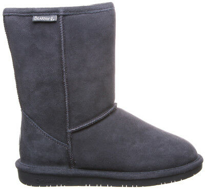 Bearpaw Women's Emma Short Boot Charcoal Size 7