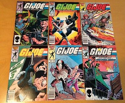 Gi. Joe Marvel Series Lot Of 12 # 45, 46, 47, 48, 49, 50, 51, 52, 53, 54, 55, 56