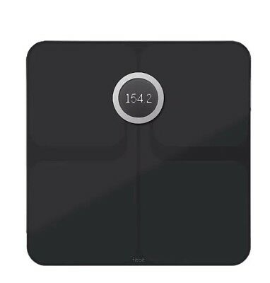 Fitbit Aria 2 Wi-Fi Smart Scale Black,new And Free Shipping