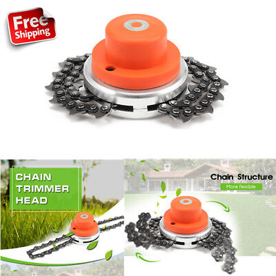 Grass Chain Coil String Trimmer Head Brush Cutter Mover Accessory For Lawn Mower