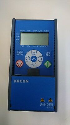 Vacon 0.55KW 3/4hp Single to 3 Phase Variable Frequency Drive Inverter VFD UK