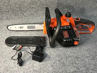 Black & Decker LCS1020 20V MAX 2.0 Ah Cordless Lithium-Ion 10 in. Chainsaw