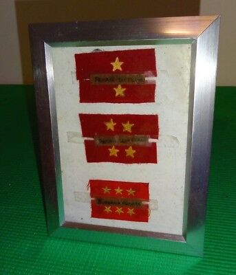 Vintage WW2 Japanese Army Rank Patches