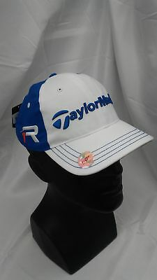 New Women s TaylorMade Golf 2013 FP Patch LPGA Adjustable Hat White Galaxy b9bf4d279289