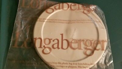 """Longaberger 8"""" American WorkProtector PlasticLid"""