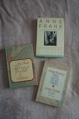 Anne Frank - Her Diary and Short Stories; A Remembrance by Miep Gies; Set of 3
