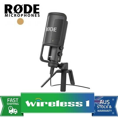 Rode NT-USB Studio USB Condenser Microphone (NTUSB)