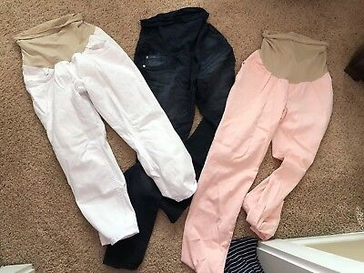 Maternity Pants: Size Medium Lot Of 3