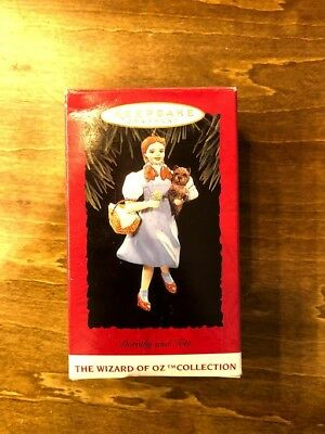 Hallmark Keepsake Ornament Dorothy And Toto The Wizard Of Oz Collection 1994