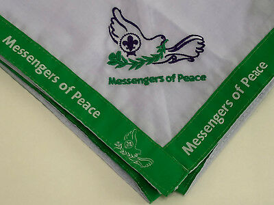 World Organization Of Scouts Movement - Messengers Of Peace Scout Neckerchief