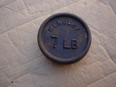 Antique Scale Weight cast iron