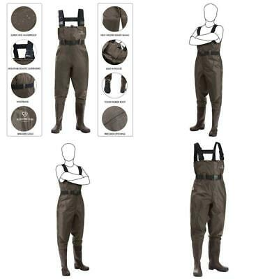 Chest Fishing Waders Hunting Bootfoot With Wading Belt Waterproof  For Men Women
