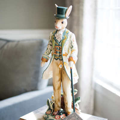 Fitz & Floyd Dapper Rabbit Male Figurine