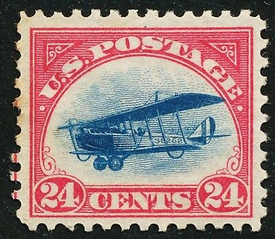 Dr Jim Stamps Us Scott C3 24C Curtiss Jenny Unused No Gum No Reserve