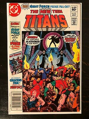 The New Teen Titans 21 - 1st Appearance of Brother Blood