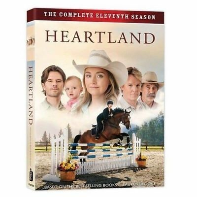 2018 Heartland: The Complete Eleventh Season 11 (DVD, 5-Disc Set) US Seller