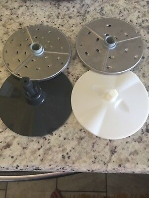 2 Robot Coupe Grating Disc Blades