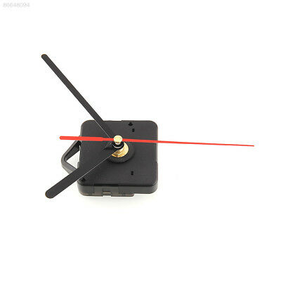 5E78 Wall Clock Quartz with Black and Red Hands with Black and Red Hands