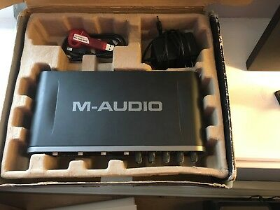 M-Audio Fast Track Ultra 8x8 Digital Recording Interface with ProTools MP9!