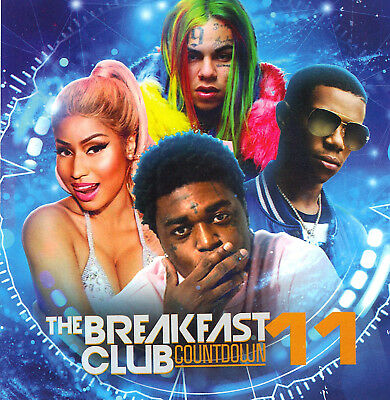 "PURP, MALONE, BOOGIE, 69, BABY- ""BREAKFAST CLUB vol 11"" MIX CD/ALBUM. 2019 HOT!!"