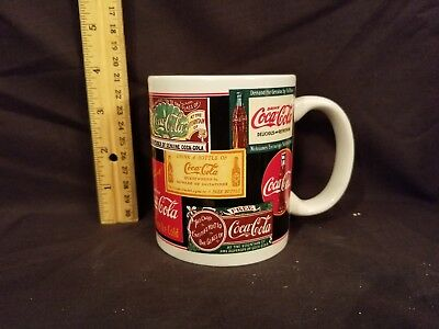 Coca Cola Brand Sign Art Mug Cup