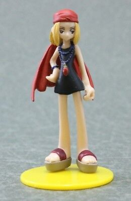 "SR Gashapon Shaman King Anna Kyoyama Figure  Authentic 3"" Yujin TOMY Japan F1212"