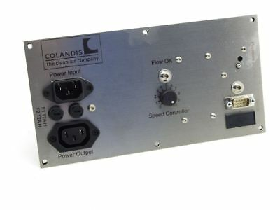 Colandis Power Input Operation Panel Unit H14 Cleanroom Filter