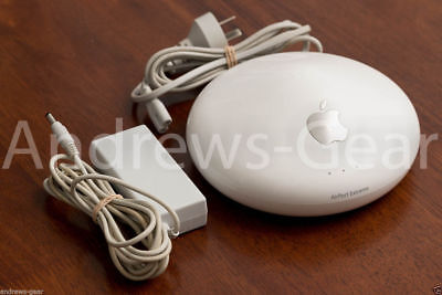 Apple AirPort Extreme Base Station  Wi-Fi A1034 Supports iPod iPhone iPad