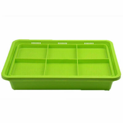 1pc Food Grade Seed Sprouter Tray Soil-Free PP Sprouting Kit Seed Growing Trays