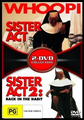 Sister Act  / Sister Act 02 - Back In The Habit ( DVD,  2-Disc Set )