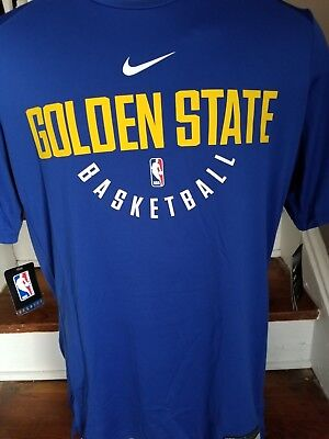 NIKE DRY NBA Golden State Warriors Practice Jersey Shirt Mens SZ XL ... 2234b91d9