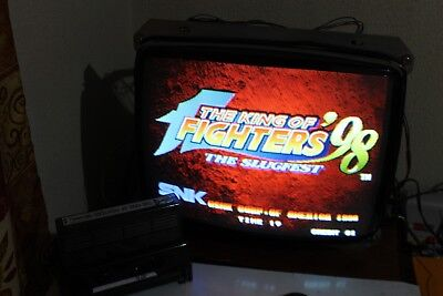 The King of Fighters 98 Authentic + Custom artwork as a gift SNK NEO GEO MVS