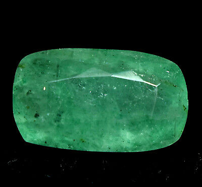 8.45 Ct Natural Green Colombia Emerald AGSL Certified Loose Gem Stone From Muzo