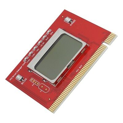 NEW PC PCI Diagnostic Debug Post Test Card Motherboard Tool with LCD Screen SU