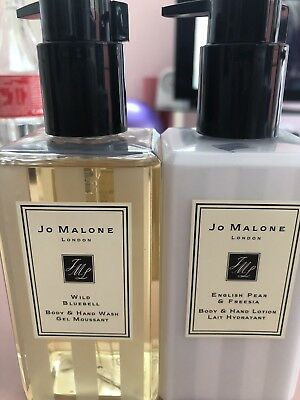 Jo Malone Body & Hand Wash And Lotion