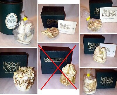 Lot of 3 Harmony Kingdom Treasure Jests in Original Boxes - YOU CHOOSE from 7 !!